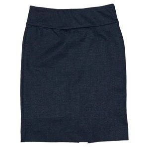 Premise Pencil Skirt Tummy Control Navy XS NWT